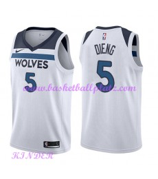 Minnesota Timberwolves NBA Trikot Kinder 2018-19 Karl Gorgui Dieng 5# Association Edition Basketball..