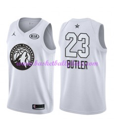 Minnesota Timberwolves Trikot Herren Jimmy Butler 23# Weiß 2018 NBA All Star Game Basketball Trikots Swingman
