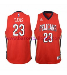 New Orleans Pelicans Trikot Kinder 15-16 Anthony Davis 23# Alternate Basketball Trikot Swingman..