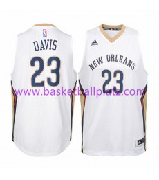 New Orleans Pelicans Trikot Kinder 15-16 Anthony Davis 23# Home Basketball Trikot Swingman..