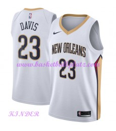 New Orleans Pelicans NBA Trikot Kinder 2018-19 Anthony Davis 23# Association Edition Basketball Trikots Swingman