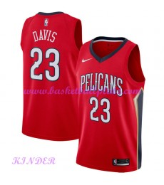 New Orleans Pelicans NBA Trikot Kinder 2018-19 Anthony Davis 23# Statement Edition Basketball Trikot..