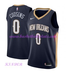 New Orleans Pelicans NBA Trikot Kinder 2018-19 DeMarcus Cousins 0# Icon Edition Basketball Trikots S..