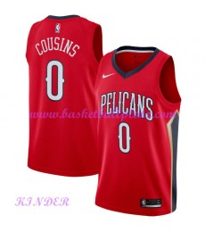 New Orleans Pelicans NBA Trikot Kinder 2018-19 DeMarcus Cousins 0# Statement Edition Basketball Trik..