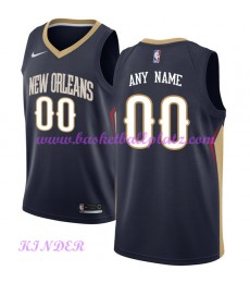 New Orleans Pelicans NBA Trikot Kinder 2018-19 Icon Edition Basketball Trikots Swingman..