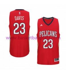 New Orleans Pelicans Trikot Herren 15-16 Anthony Davis 23# Alternate Basketball Trikot Swingman
