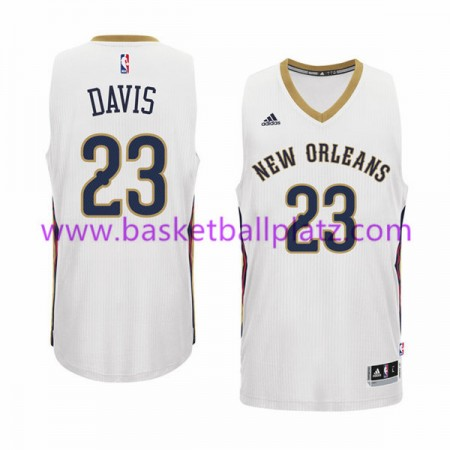 New Orleans Pelicans Trikot Herren 15-16 Anthony Davis 23# Home Basketball Trikot Swingman