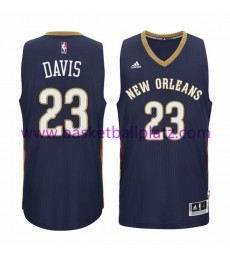 New Orleans Pelicans Trikot Herren 15-16 Anthony Davis 23# Road Basketball Trikot Swingman