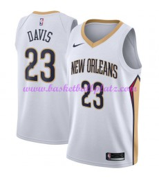 New Orleans Pelicans Trikot Herren 2018-19 Anthony Davis 23# Association Edition Basketball Trikots NBA Swingman