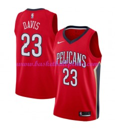 New Orleans Pelicans Trikot Herren 2018-19 Anthony Davis 23# Statement Edition Basketball Trikots NBA Swingman