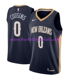 New Orleans Pelicans Trikot Herren 2018-19 DeMarcus Cousins 0# Icon Edition Basketball Trikots NBA S..