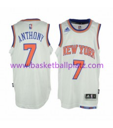 New York Knicks Trikot Kinder 15-16 Carmelo Anthony 7# Home Basketball Trikot Swingman..