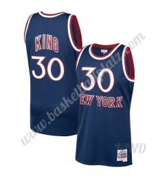 New York Knicks Trikot Kinder 1982-83 Bernard King 30# Marine Hardwood Classics NBA Trikots Swingman..