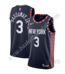 New York Knicks Trikot Kinder 2019-20 Tim Hardaway Jr. 3# Marine City Edition NBA Trikots Swingman..