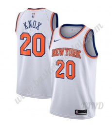 New York Knicks Trikot Kinder 2019-20 Kevin Knox 20# Weiß Association Edition NBA Trikots Swingman..