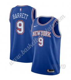 New York Knicks Trikot Kinder 2019-20 RJ Barrett 9# Blau Statement Edition NBA Trikots Swingman..