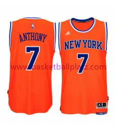 New York Knicks Trikot Herren 15-16 Carmelo Anthony 7# Alternate Basketball Trikot Swingman