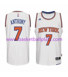 New York Knicks Trikot Herren 15-16 Carmelo Anthony 7# Home Basketball Trikot Swingman