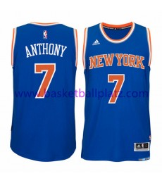 New York Knicks Trikot Herren 15-16 Carmelo Anthony 7# Road Basketball Trikot Swingman