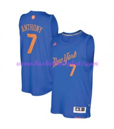 Günstige NBA Weihnachten Basketball Trikots New York Knicks Herren 2016 Carmelo Anthony 7# Swingman