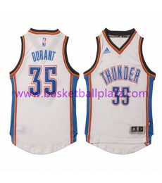Oklahoma City Thunder Trikot Kinder 15-16 Kevin Durant 35# Home Basketball Trikot Swingman..