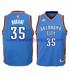 Oklahoma City Thunder Trikot Kinder 15-16 Kevin Durant 35# Road Basketball Trikot Swingman..