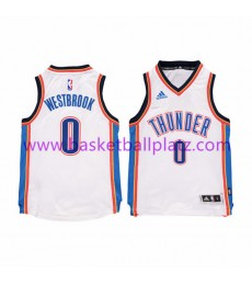 Oklahoma City Thunder Trikot Kinder 15-16 Russell Westbrook 0# Home Basketball Trikot Swingman..