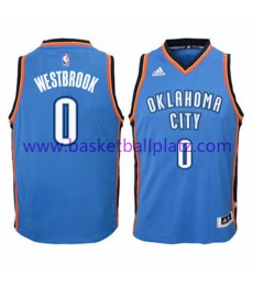 Oklahoma City Thunder Trikot Kinder 15-16 Russell Westbrook 0# Road Basketball Trikot Swingman..