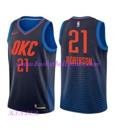 Oklahoma City Thunder NBA Trikot Kinder 2018-19 Andre Roberson 21# Statement Edition Basketball Trik..