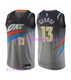 Oklahoma City Thunder NBA Trikot Kinder 2018-19 Paul George 13# City Edition Basketball Trikots Swingman