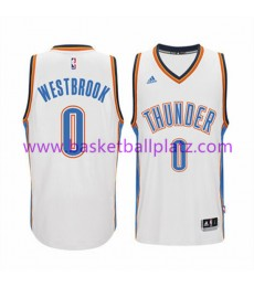 Oklahoma City Thunder Trikot Herren 15-16 Russell Westbrook 0# Home Basketball Trikot Swingman