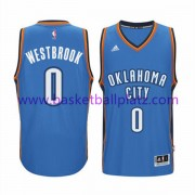 Oklahoma City Thunder Trikot Herren 15-16 Russell Westbrook 0# Road Basketball Trikot Swingman