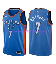 Oklahoma City Thunder Trikot Herren 2018-19 Carmelo Anthony 7# Icon Edition Basketball Trikots NBA Swingman