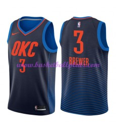 Oklahoma City Thunder Trikot Herren 2018-19 Corey Brewer 3# Statement Edition Basketball Trikots NBA..