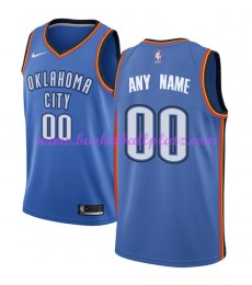 Oklahoma City Thunder Trikot Herren 2018-19 Icon Edition Basketball Trikots NBA Swingman..