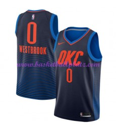 Oklahoma City Thunder Trikot Herren 2018-19 Russell Westbrook 0# Statement Edition Basketball Trikots NBA Swingman