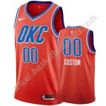 Oklahoma City Thunder Trikot Herren 2019-20 Orange Statement Edition Basketball Trikots NBA Swingman