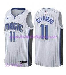 Orlando Magic NBA Trikot Kinder 2018-19 Bismack Biyombo 11# Association Edition Basketball Trikots S..