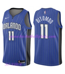 Orlando Magic NBA Trikot Kinder 2018-19 Bismack Biyombo 11# Icon Edition Basketball Trikots Swingman..