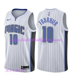 Orlando Magic NBA Trikot Kinder 2018-19 Evan Fournier 10# Association Edition Basketball Trikots Swi..