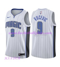 Orlando Magic NBA Trikot Kinder 2018-19 Nikola Vucevic 9# Association Edition Basketball Trikots Swi..