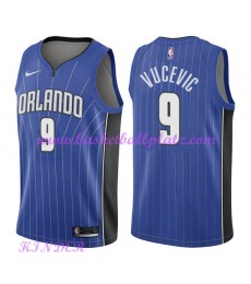 Orlando Magic NBA Trikot Kinder 2018-19 Nikola Vucevic 9# Icon Edition Basketball Trikots Swingman..