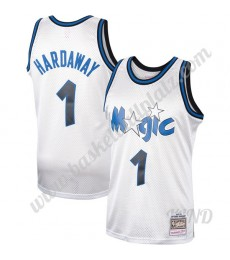 Orlando Magic Trikot Kinder 1993-94 Penny Hardaway 1# Platinum Hardwood Classics NBA Trikots Swingma..