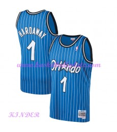 Orlando Magic NBA Trikot Kinder 1994-95 Penny Hardaway 1# Blau Hardwood Classics Basketball Trikots ..