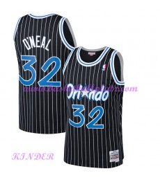 Orlando Magic NBA Trikot Kinder 1994-95 Shaquille O'Neal 32# Schwarz Hardwood Classics Basketball Tr..