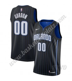 Orlando Magic Trikot Kinder 2019-20 Aaron Gordon 00# Schwarz Statement Edition  NBA Trikots Swingman..