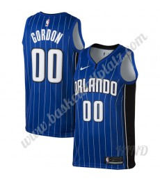 Orlando Magic Trikot Kinder 2019-20 Aaron Gordon 00# Blau Icon Edition NBA Trikots Swingman..