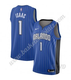 Orlando Magic Trikot Kinder 2019-20 Jonathan Isaac 1# Blau Icon Edition NBA Trikots Swingman..