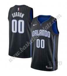 Orlando Magic Trikot Kinder 2019-20 Aaron Gordon 00# Schwarz Icon Edition NBA Trikots Swingman..