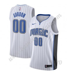 Orlando Magic Trikot Kinder 2019-20 Aaron Gordon 00# Weiß Association Edition NBA Trikots Swingman..